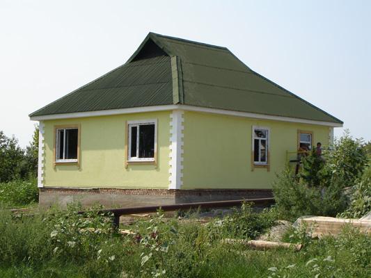 Отделка фасада частного дома цены